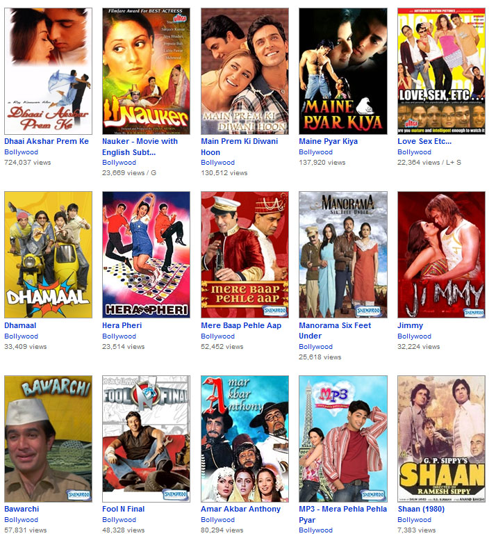 Watch bollywood movies on youtube full length hindi films for Watch a good movie