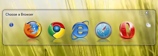 Choose Web Browser