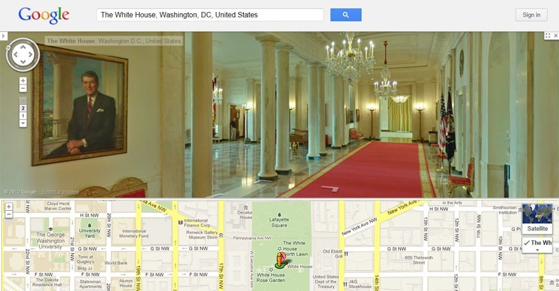 Take A Virtual Tour Of The White House