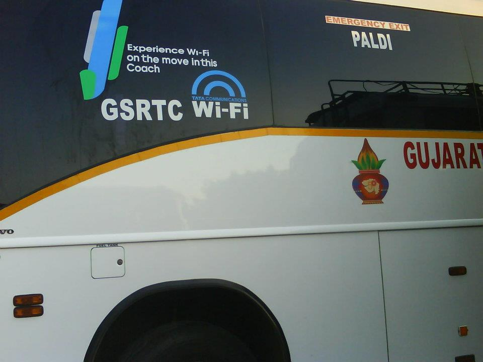 Gujarat Buses with Wi-Fi