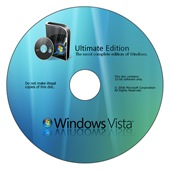 Vista SP1 DVD