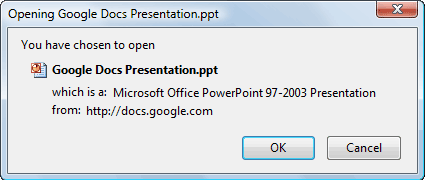 open your google docs presentations in microsoft powerpoint