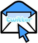 update twitter from email