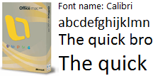 Download Calibri Font on your Mac for Free